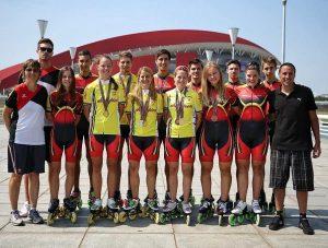 Seleção Alemã estagia em Lagos com Campeão Mundial Sele    o Alem   Mundiais 2016 300x227