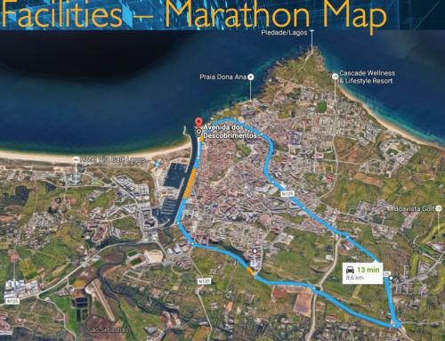O Circuito da prova 25km Meia Maratona Soudal