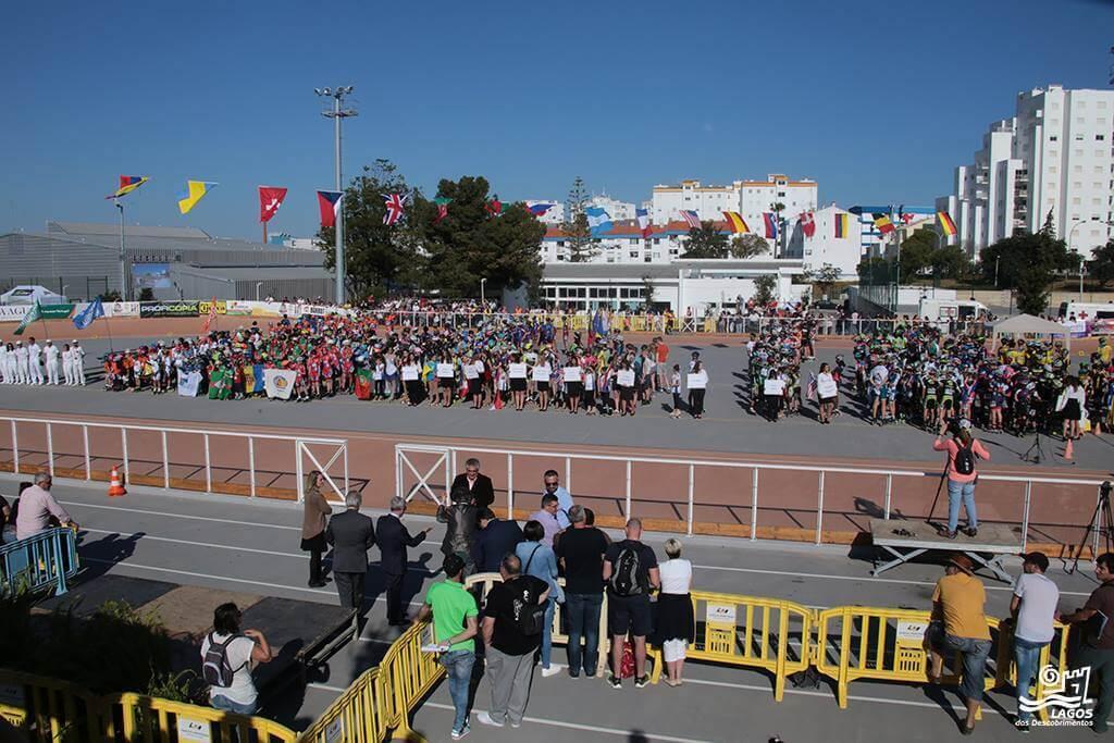 vencedores PATXI PEULA, ESP e AURA QUINTANA, COL VENCEDORES Cerimonia de Abertura 2