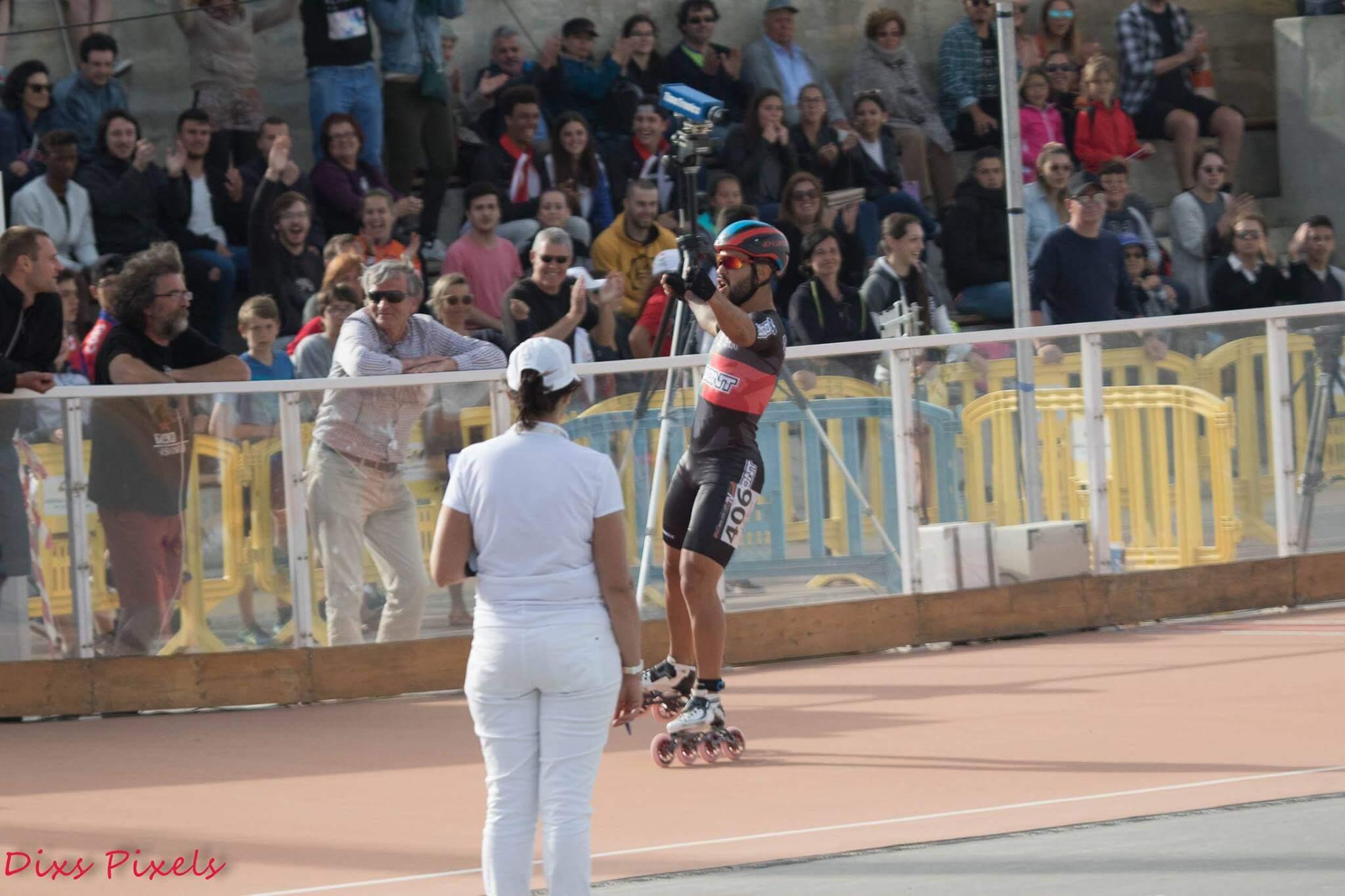vencedores PATXI PEULA, ESP e AURA QUINTANA, COL VENCEDORES Diogo Marreiros vence 1Km e Track Record