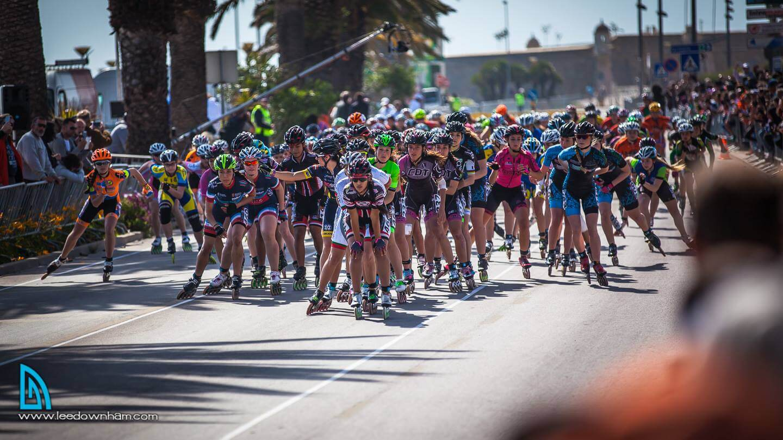 vencedores PATXI PEULA, ESP e AURA QUINTANA, COL VENCEDORES Partida 25Km Mulheres