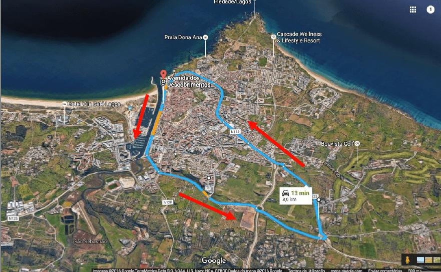 Mapa com direções Program Races and Heats Program Screen Shot 2017 04 06 at 00