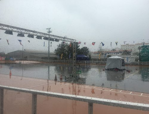 Races canceled on the 2nd day due to rain
