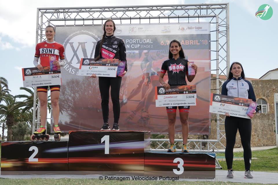 XVI Terras do Infante 2019 P  dio geral Torneio Senior Feminino 2
