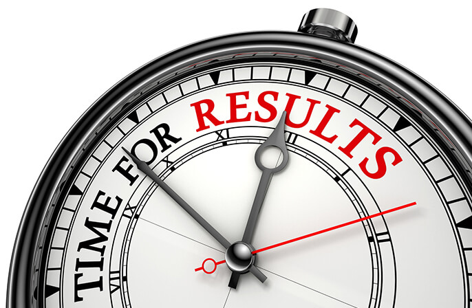 resultados Resultados disponiveis time for results