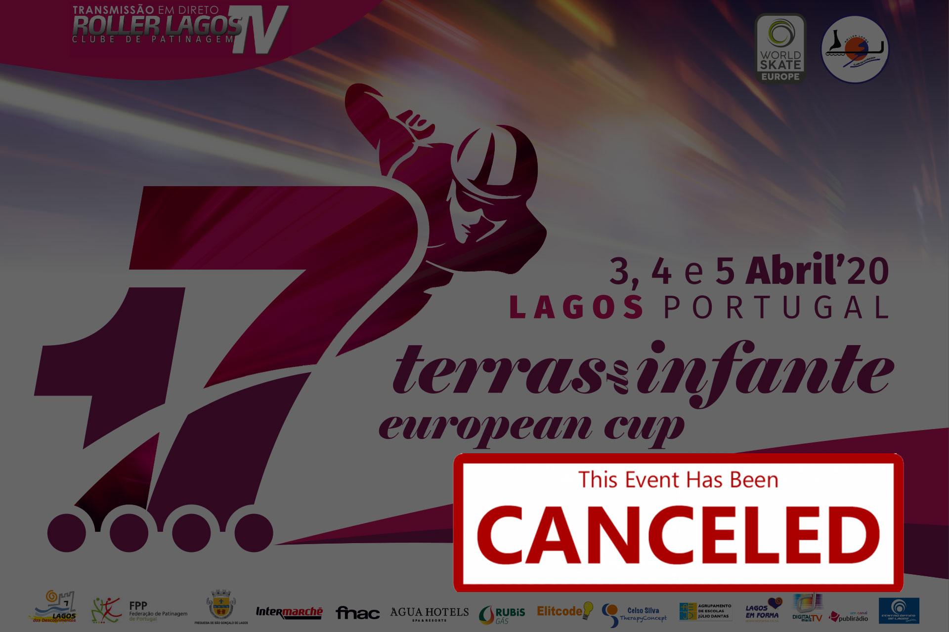 torneio internacional terras do infante – 2ª etapa das taças da europa está cancelado Torneio Internacional Terras do Infante – 2ª Etapa das Taças da Europa está CANCELADO cancelled 5
